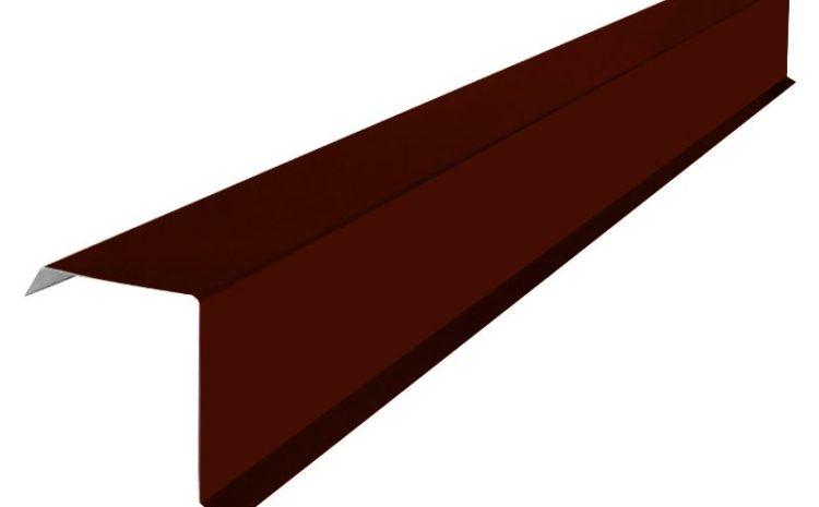 фронтонная планка для металлочерепицы на заказ