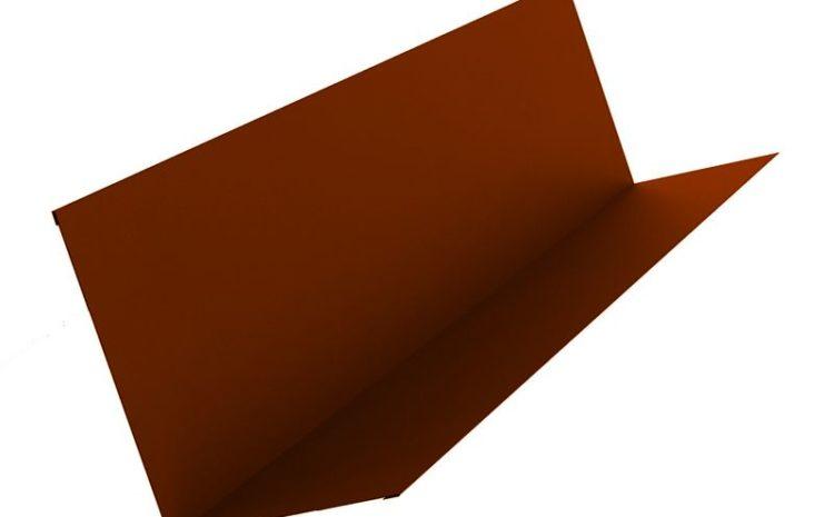 планка примыкания на металлочерепицу на заказ