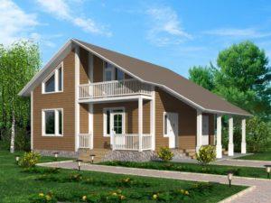 проект каркасного дома под ключ на заказ