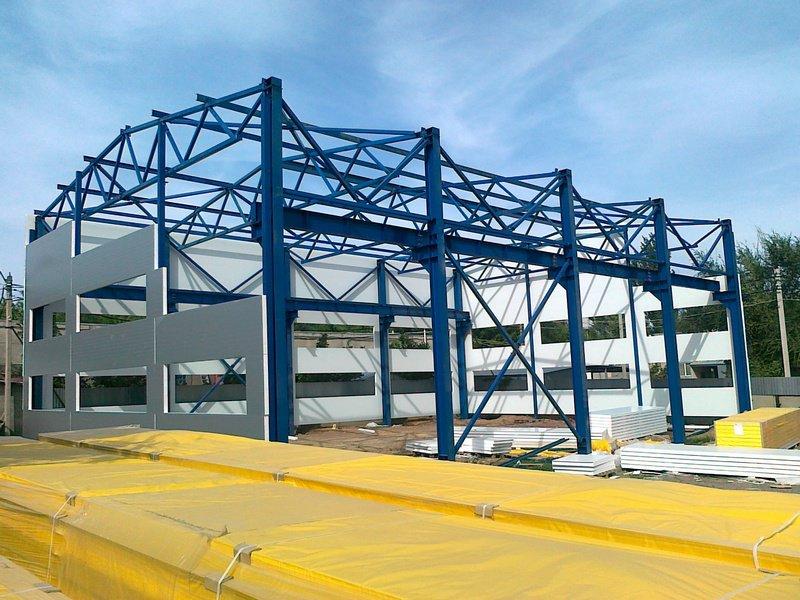 проектирование металлических конструкций на заказ