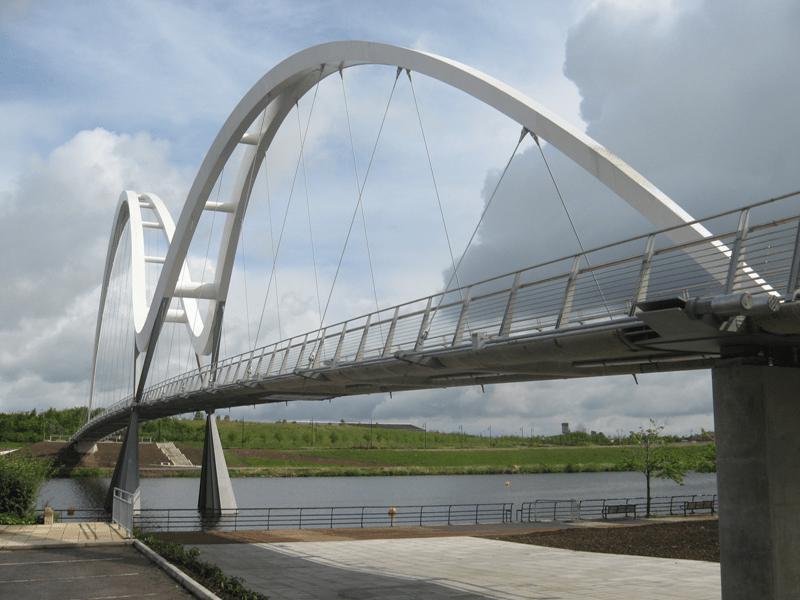 проектирование пешеходных мостов на заказ