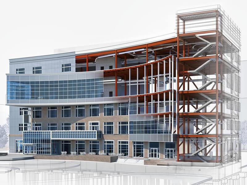разработка проекта для промышленного здания на заказ