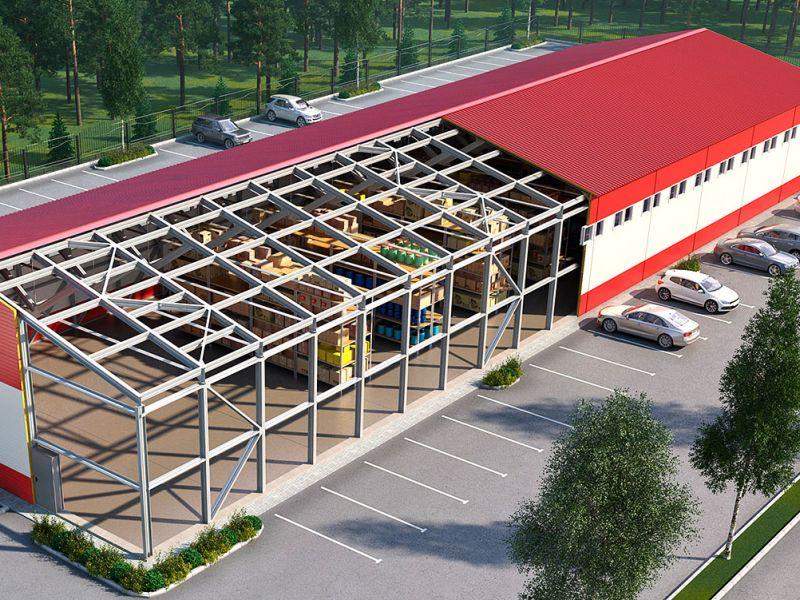 проектирование складов на заказ
