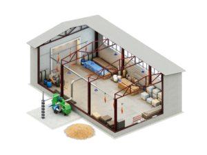разработка проектов складских комплексов на заказ