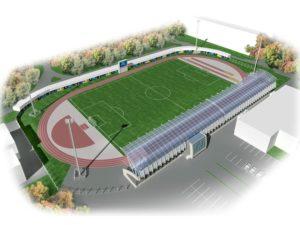 проектирование небольших стадионов на заказ
