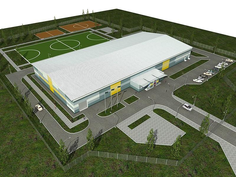 проектирование спортивных комплексов на заказ