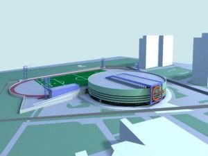 разработка проекта спортивного комплекса на заказ