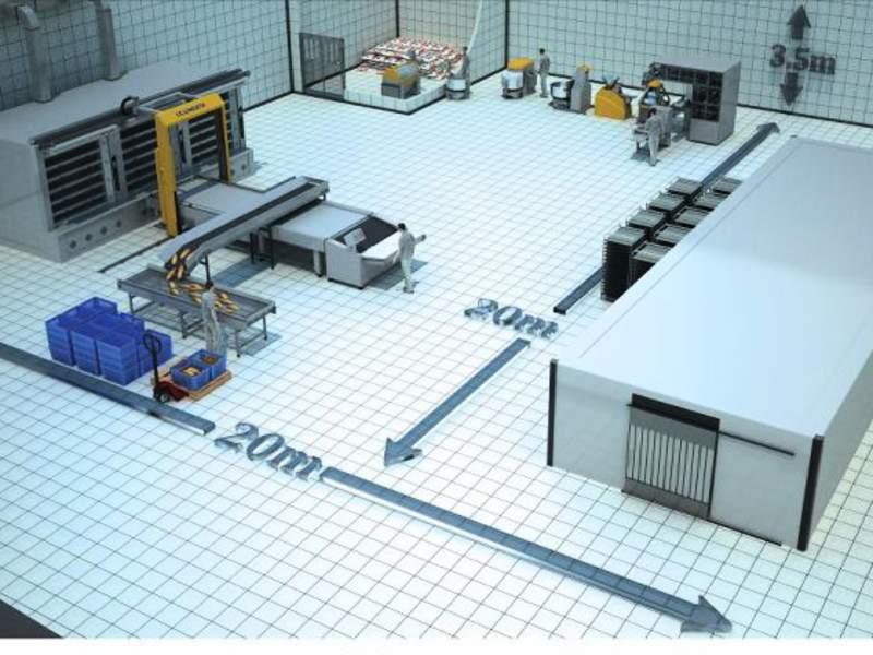 Проектирование хлебопекарного предприятия на заказ