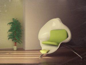 промышленный дизайн кресла на заказ