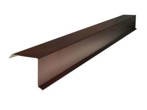 торцевая планка для металлочерепицы на заказ