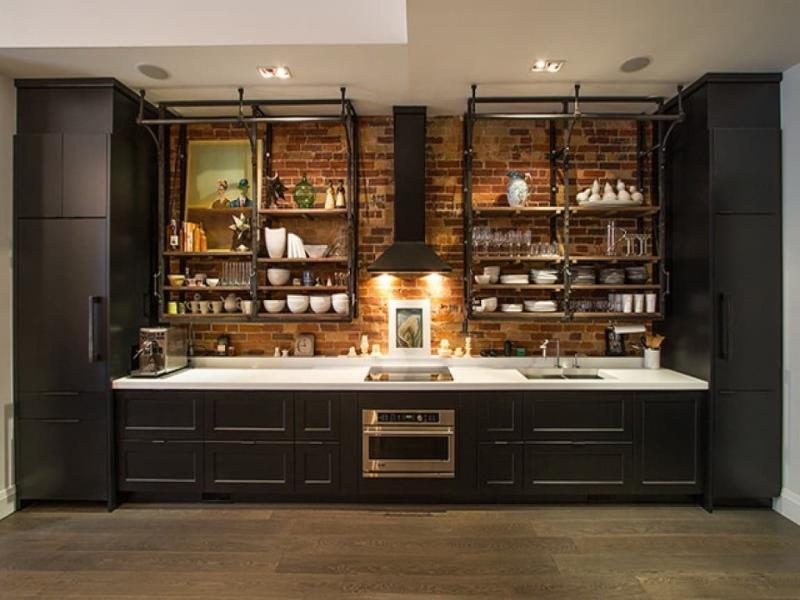 Кухонные гарнитуры в стиле лофт