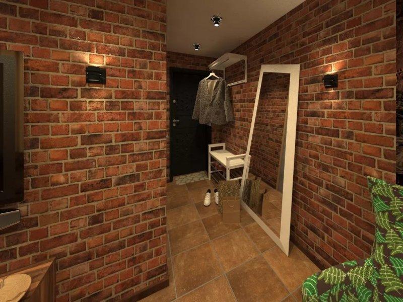 Прихожие в коридор в стиле лофт