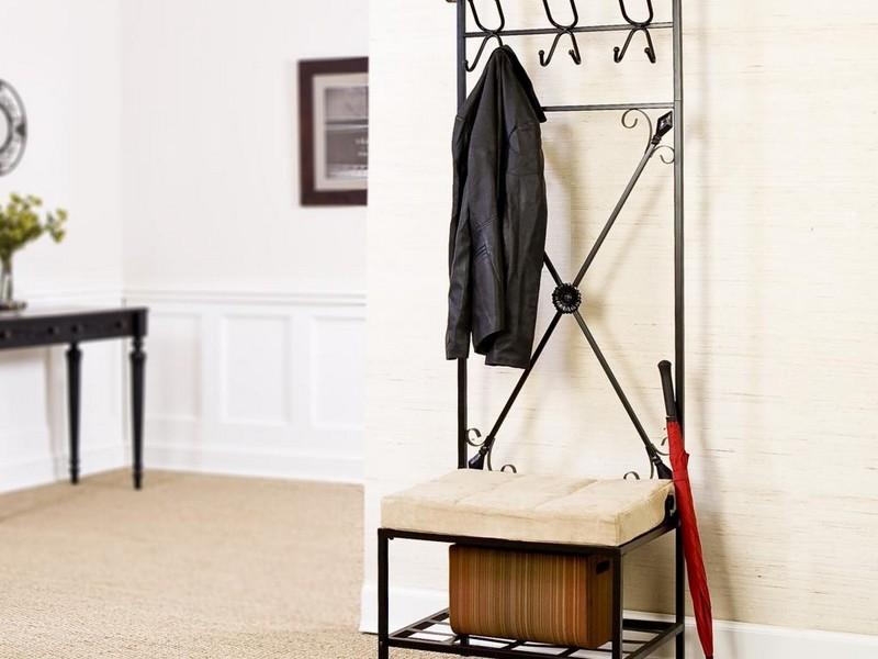 Вешалка в коридор в стиле лофт