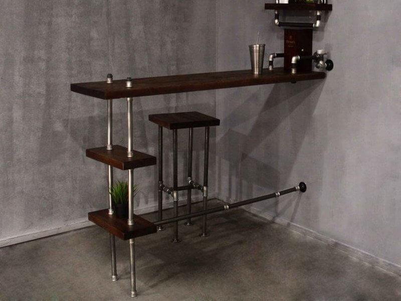 Барная стойка для кухни лофт