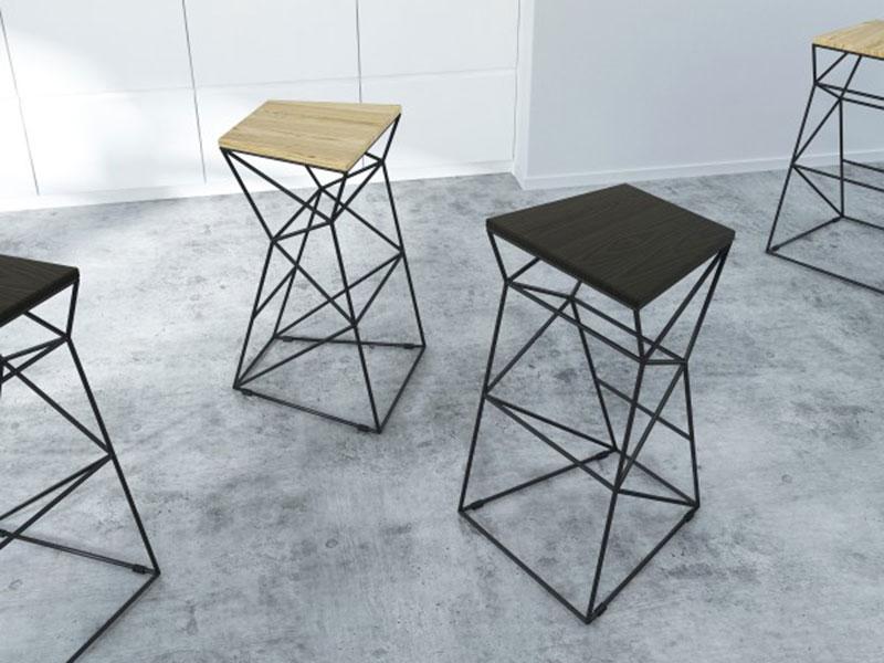 Барные стулья для кухни в стиле лофт