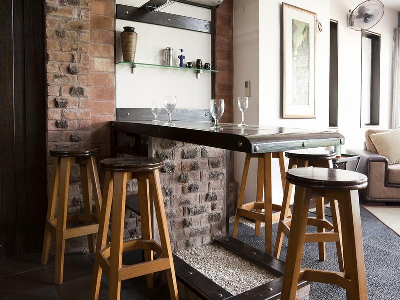 Барные стулья лофт для кухни