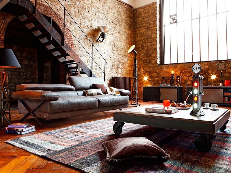 диван loft в гостиную на заказ