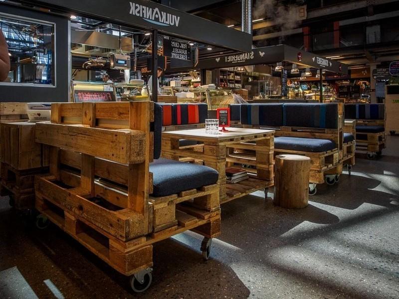 мебель лофт для ресторана на заказ
