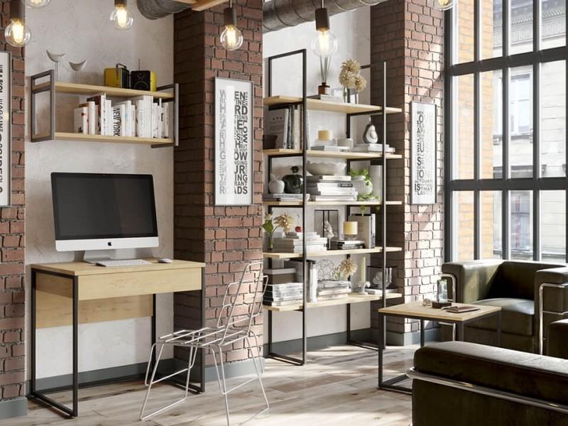 мебель в стиле лофт для гостиной на заказ