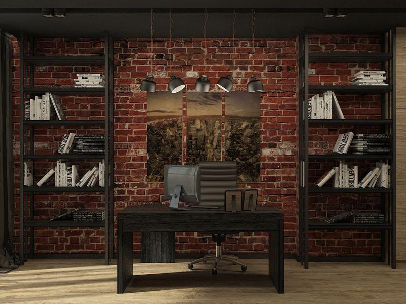 мебель лофт для кабинета на заказ