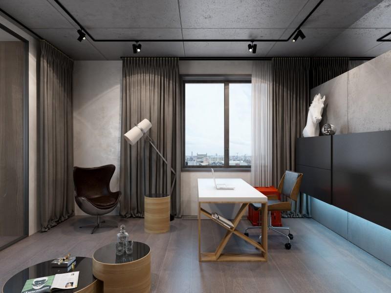 мебель лофт для домашнего кабинета на заказ