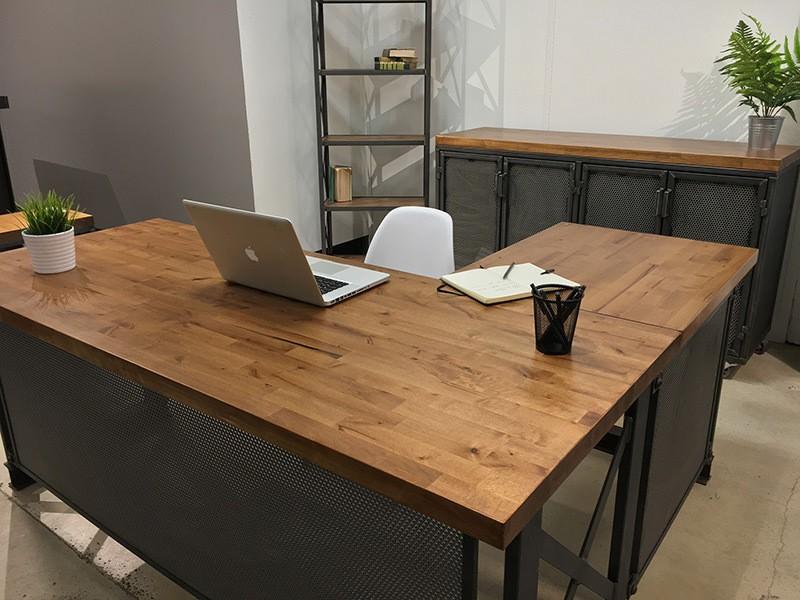 мебель в стиле лофт для офиса на заказ