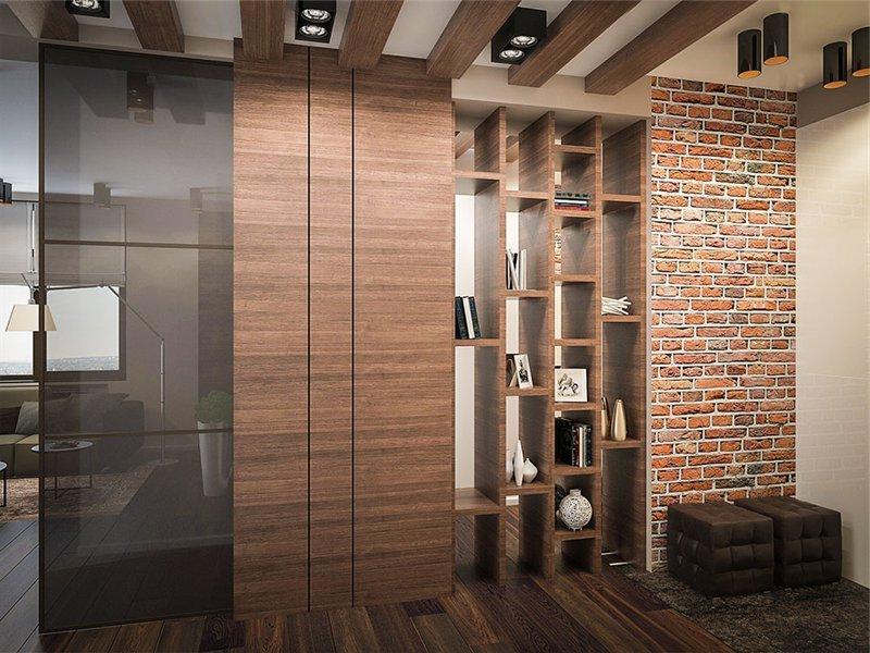 мебель в стиле лофт для прихожей на заказ