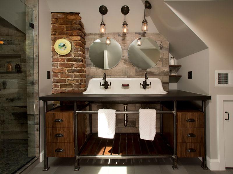 мебель лофт для ванной на заказ