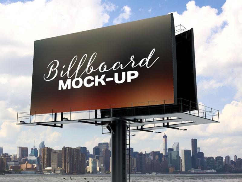 Рекламный бигборд