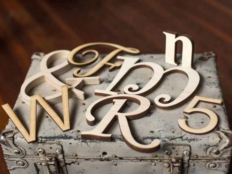 Производство букв из фанеры