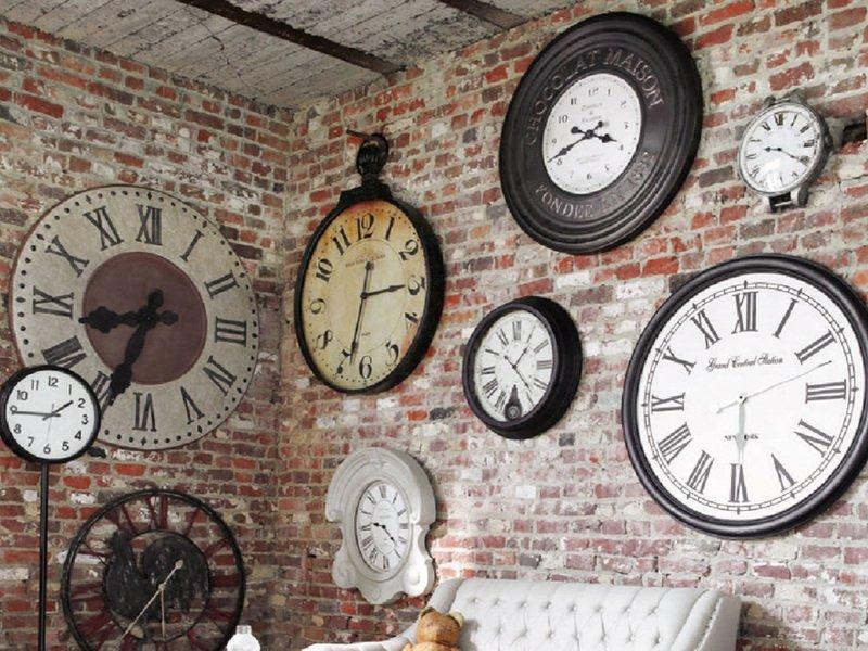 Часы лофт