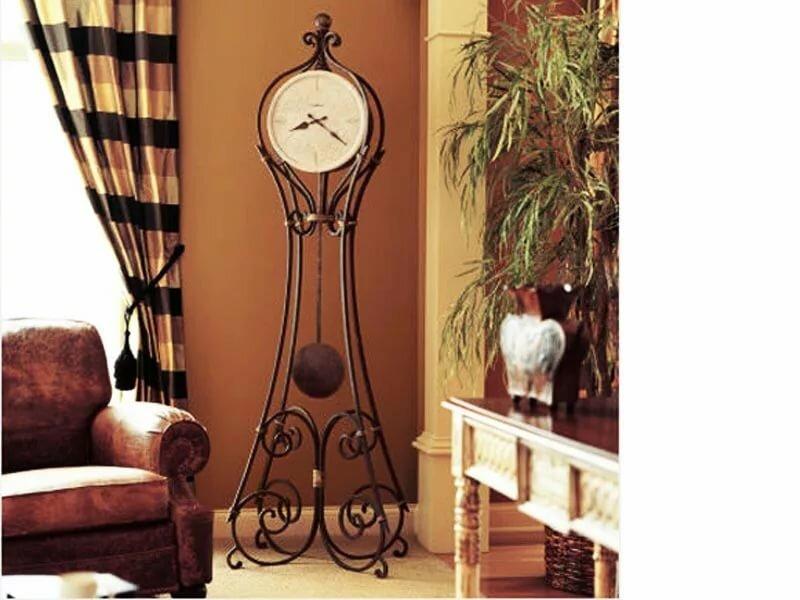 Большие часы в стиле лофт