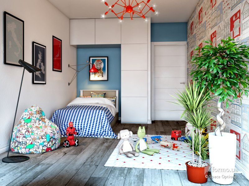Лофт дизайн детской комнаты
