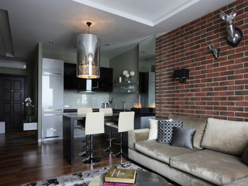 Лофт дизайн двухкомнатной квартиры