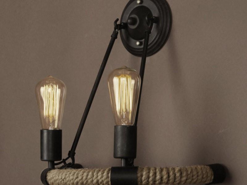 Дизайнерский светильник лофт