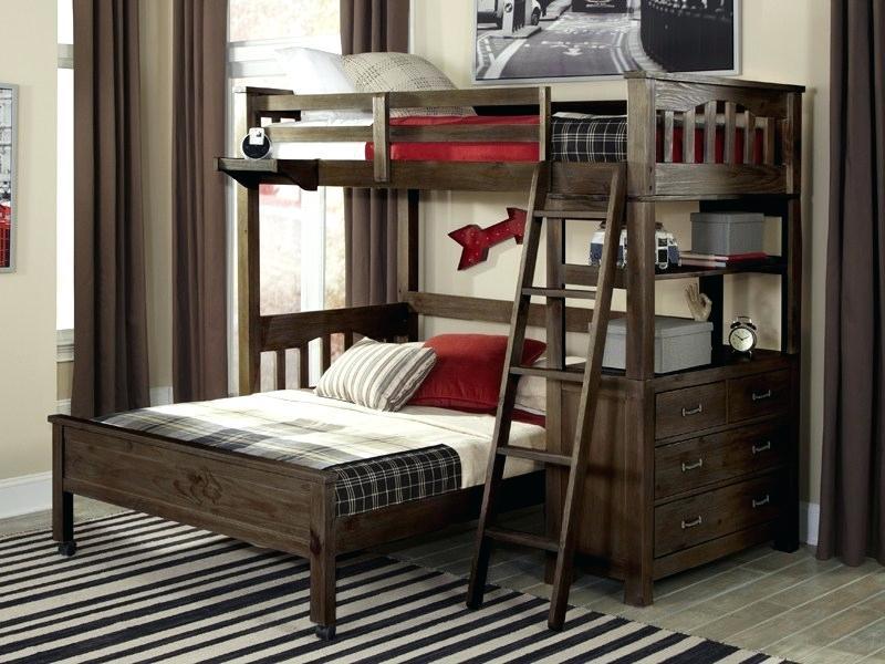 Двухъярусная кровать лофт