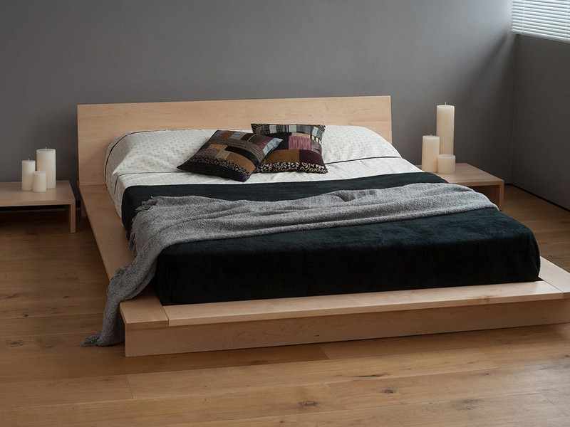 Двуспальная кровать в стиле лофт