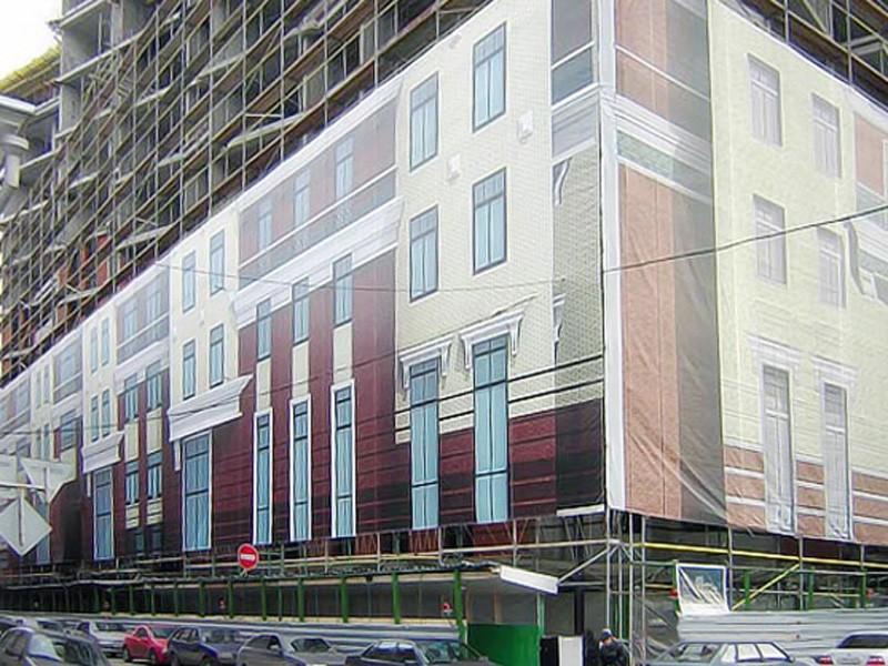 Фальш фасад здания