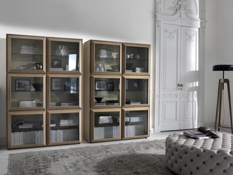 Шкаф для книг лофт