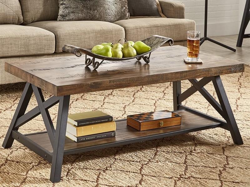 Кофейные столы в стиле лофт