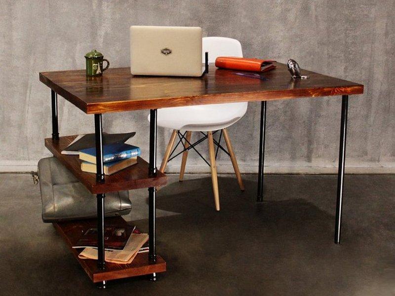 Компьютерные столы в стиле лофт (loft)
