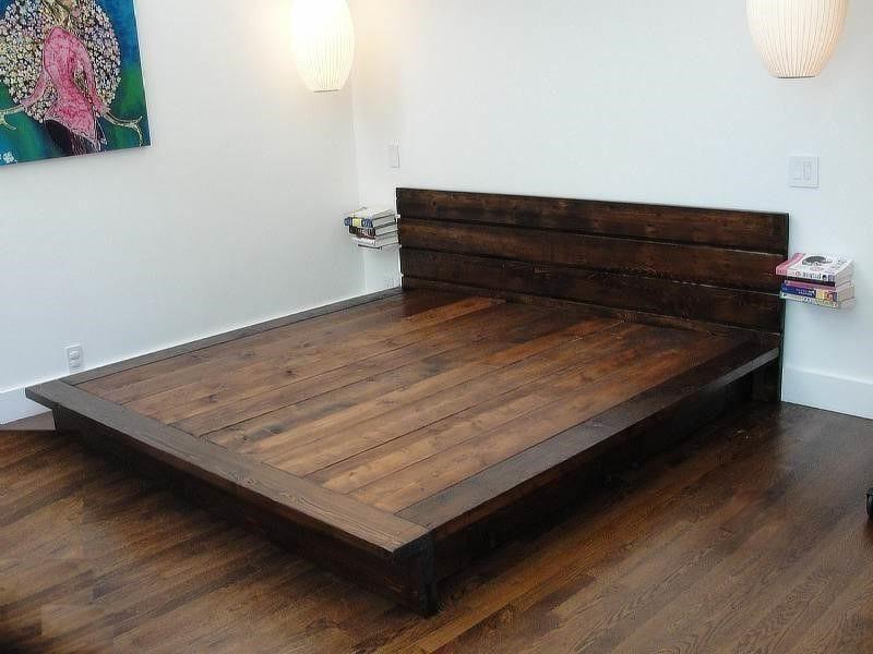 Кровати в стиле лофт из массива