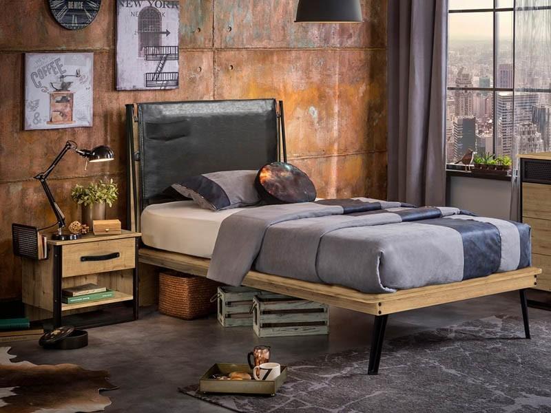 Кровать лофт односпальная