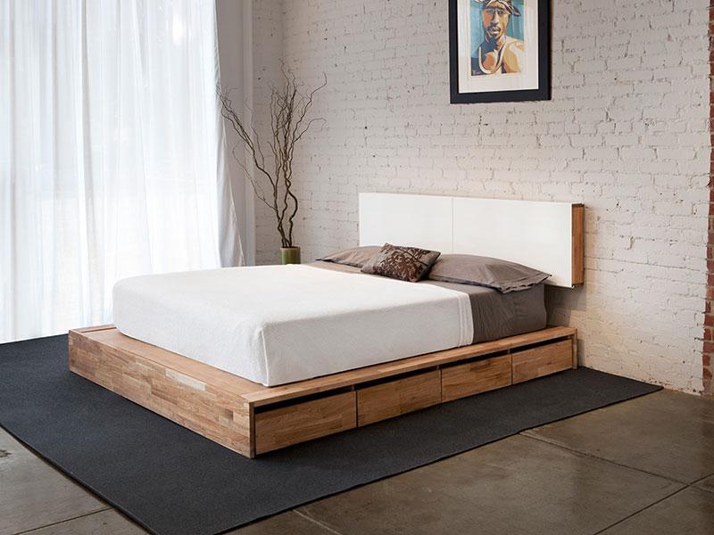 Лофт кровать подиум