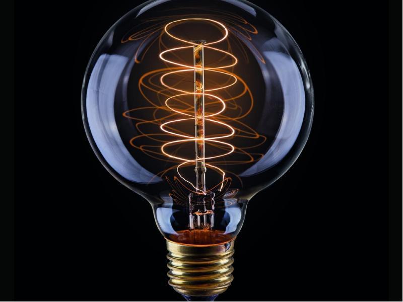 Лампы накаливания в стиле лофт