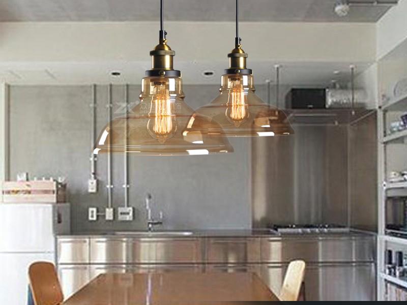 Лампы на кухню в стиле лофт