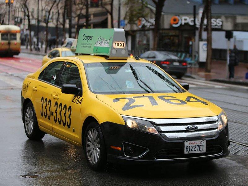 Лайтбокс такси