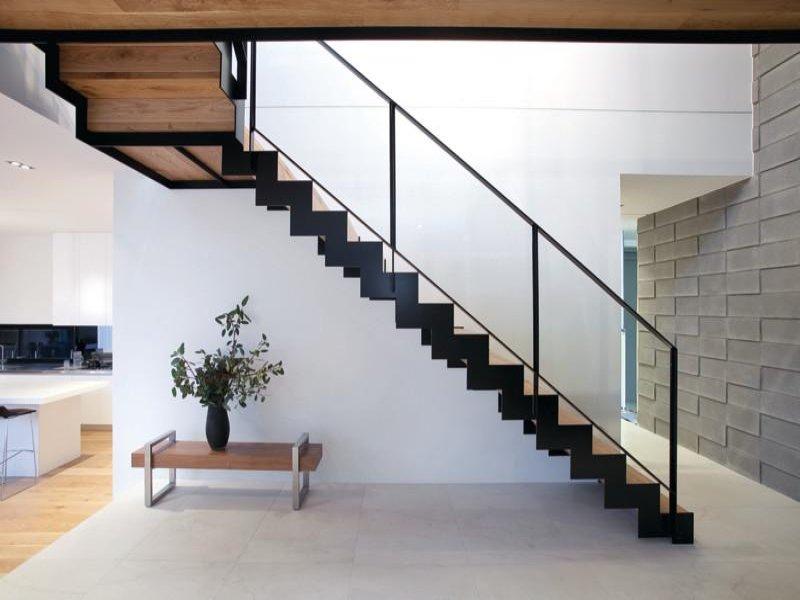 ограждения для лестницы в стиле лофт на заказ