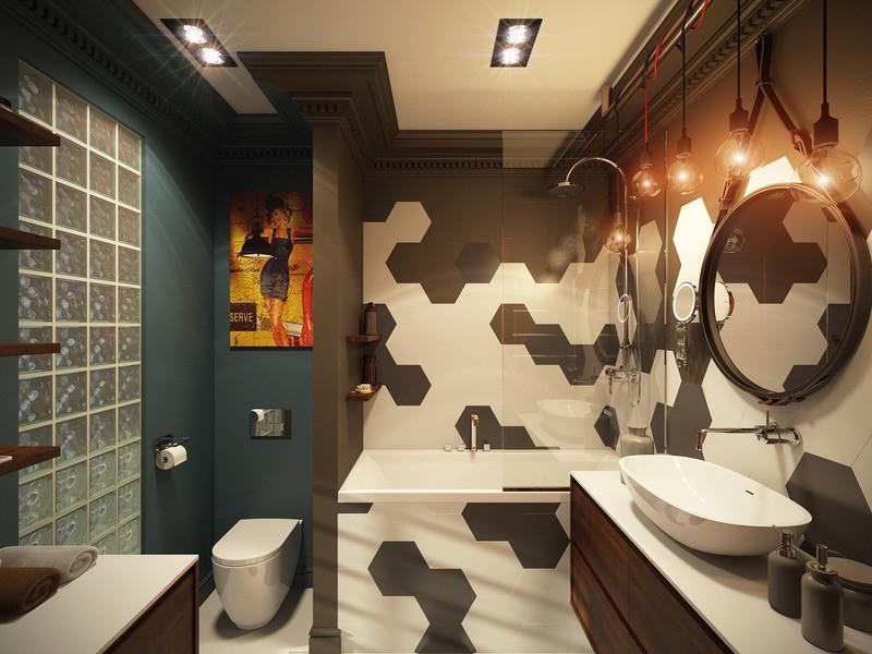 Лофт аксессуары для ванной