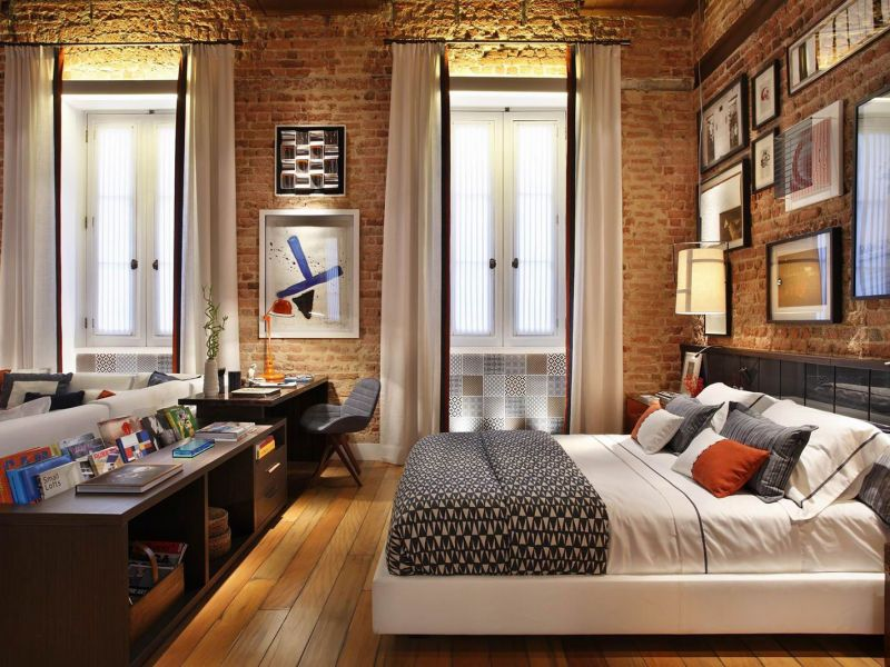 Дизайн квартиры в стиле лофт